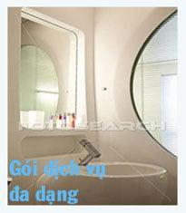 Gói dịch vụ vệ sinh nhà cửa đa dạng, phù hợp với nhiều yêu cầu