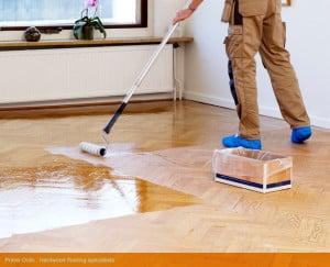 Hình ảnh: Dịch vụ phủ bóng sàn gỗ