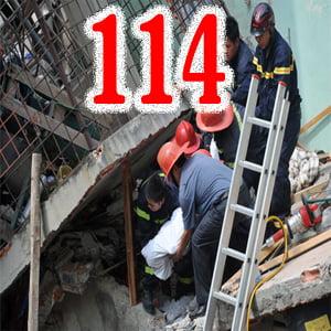 Sập nhà gọi 114