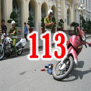 Tai nan giao thong goi 113