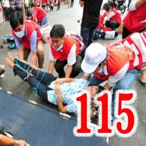 cấp cứu tai nạn giao thông 115