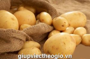 Hình ảnh: khoai tây món ăn giúp cô dâu có làn da đẹp