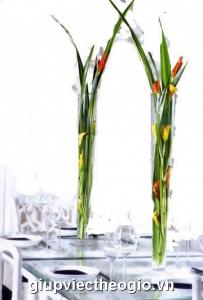 mẫu hoa đẹp cho ngày tết - Bàn Tiệc xuân