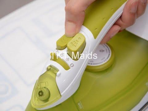 hướng dẫn sử dụng bàn ủi hơi nước bước 5