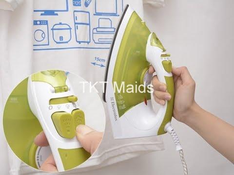 hướng dẫn sử dụng bàn ủi hơi nước bước 7