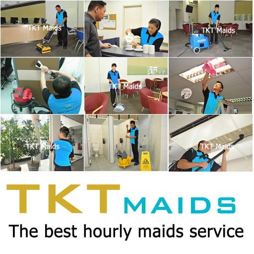 dịch vụ tạp vụ văn phòng công ty TKT Maids