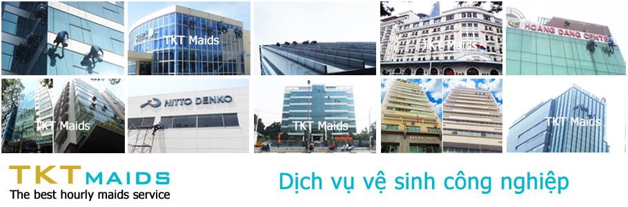 dịch vụ vệ sinh công nghiệp TKT Maids