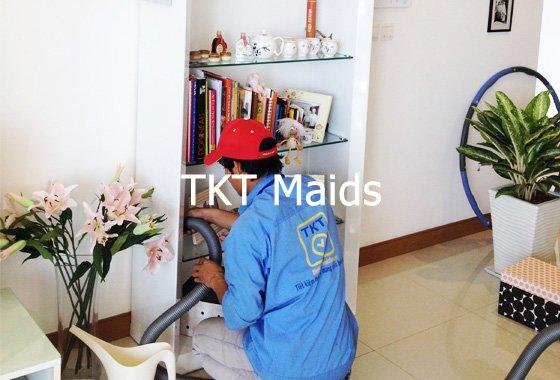 vệ sinh đồ đạc nhà cửa - TKT Maids