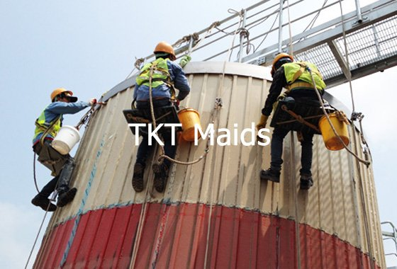 dịch vụ vệ sinh nhà máy, nhà xưởng - TKT maids