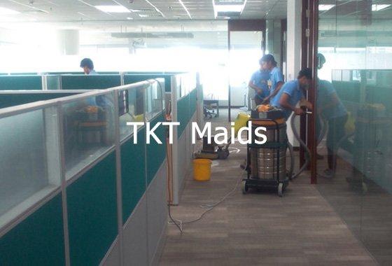 dịch vụ vệ sinh thảm văn phòng công ty TKT Maids