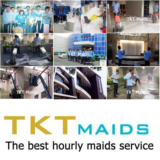 dịch vụ vệ sinh TKT Maids