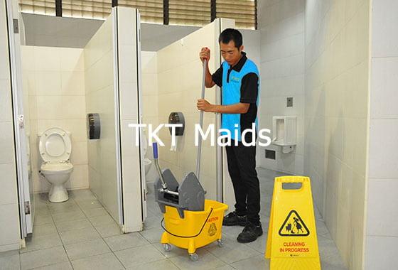 dịch vụ tạp vụ văn phòng TKT Maids
