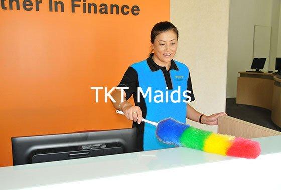 cung cấp tạp vụ công ty theo giờ TKT Maids
