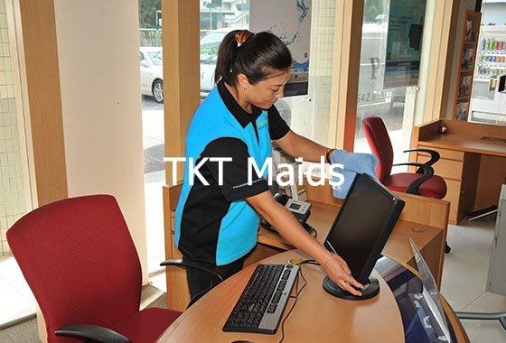 tạp vụ văn phòng TKT Maids
