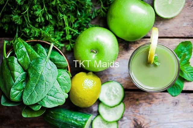 detox bằng rau củ quả