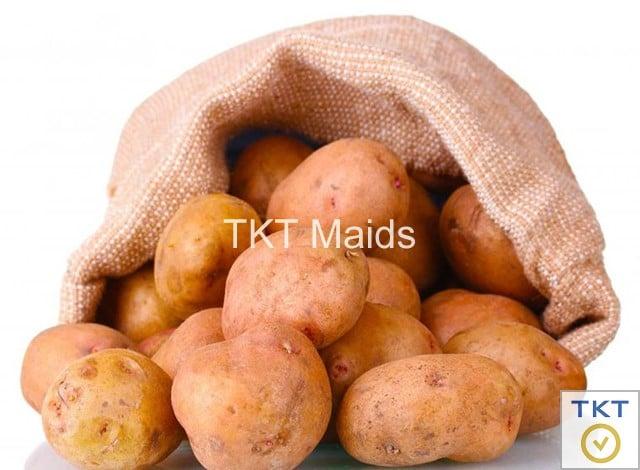 bảo quản khoai tây trong tủ lạnh