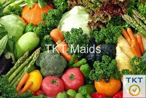 cần phần biệt rau củ quả khi bảo quản trong tủ lạnh, tránh hỗn hợp