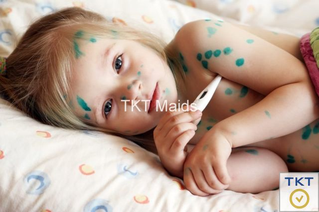 tác hại của bệnh thủy đậu đến trẻ em