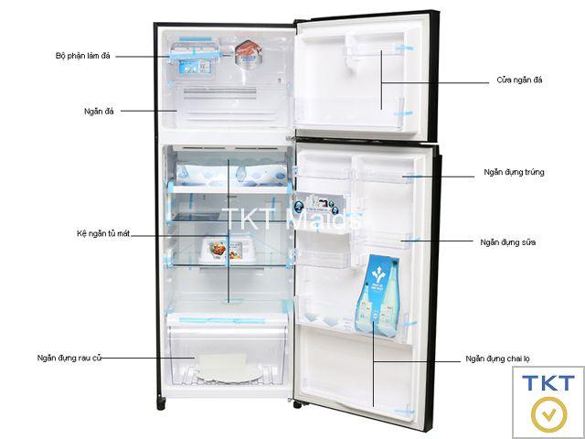 Hình ảnh: cấu tạo tủ lạnh cấp đông thông thường