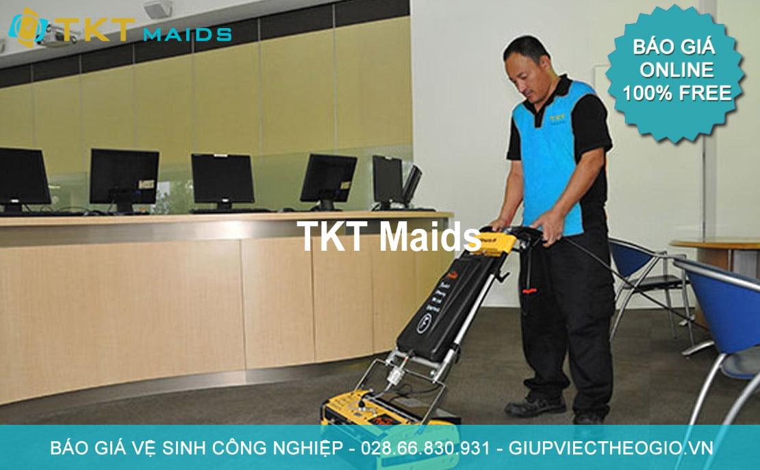 báo giá dịch vụ vệ sinh công nghiệp tại TpHCM - TKT Maids