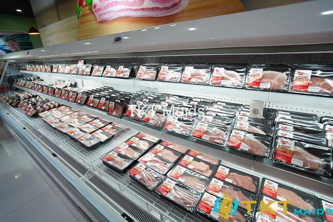 thịt mát được bán ở siêu thị