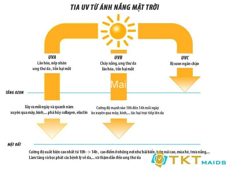 tia UV và mối quan hệ với sức khỏe