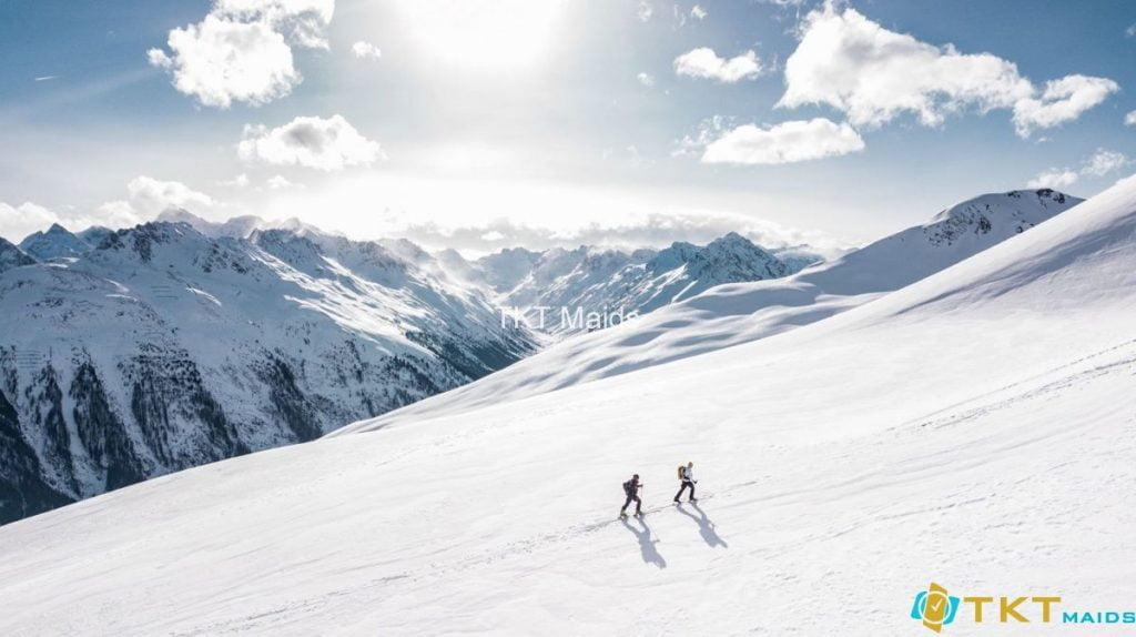 tia UV phản xạ trên tuyết