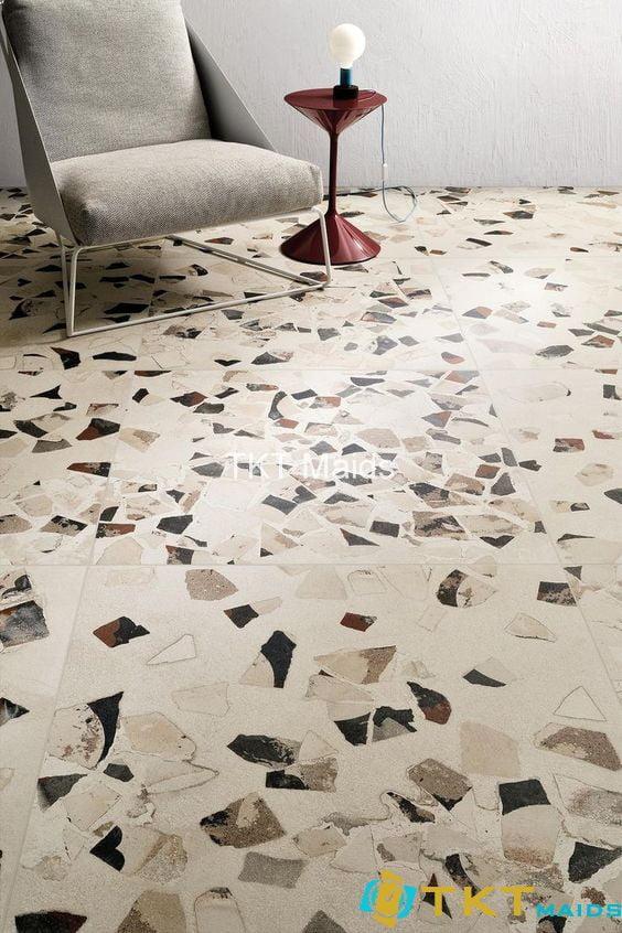 sàn nhà lát đá Terrazzo cao cấp