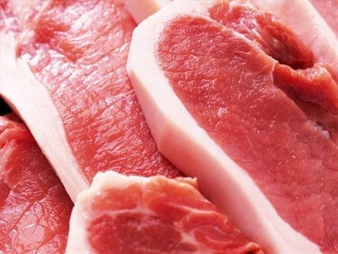 thịt lợn khỏe mạnh