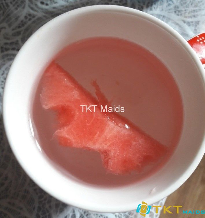Dưa làm hồng nước bị tiêm nitrat
