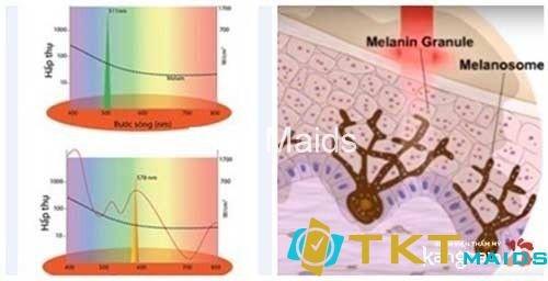 phương pháp phá bỏ sắc tố melamin