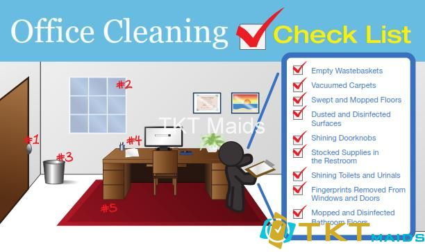 Bảng kiểm tra vệ sinh văn phòng