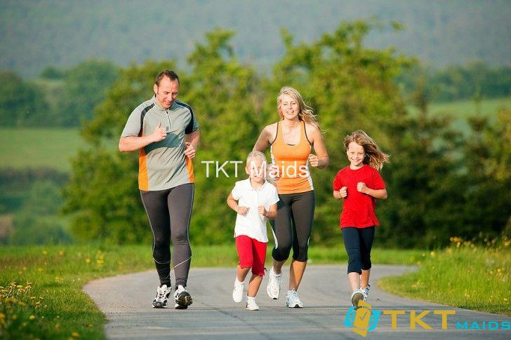 duy trì tập thể dục giúp có thể khỏe mạnh hơn