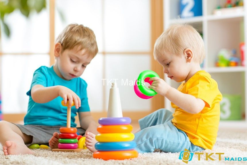 làm sạch đồ chơi trẻ em giúp phòng ngừa bệnh
