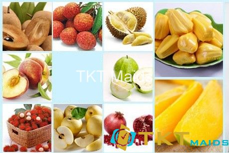 Một số loại trái cây gây nóng nội mụn
