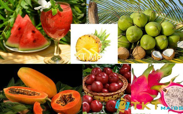 một số loại trái cây nên bổ sung giải nhiệt khi bị nóng