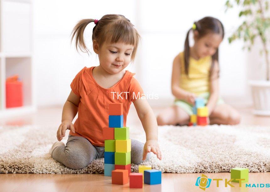 vệ sinh đồ chơi trẻ em ngừa bệnh chân tay miệng