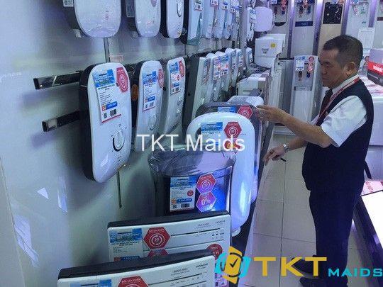 bán máy lọc không khí tại siêu thị