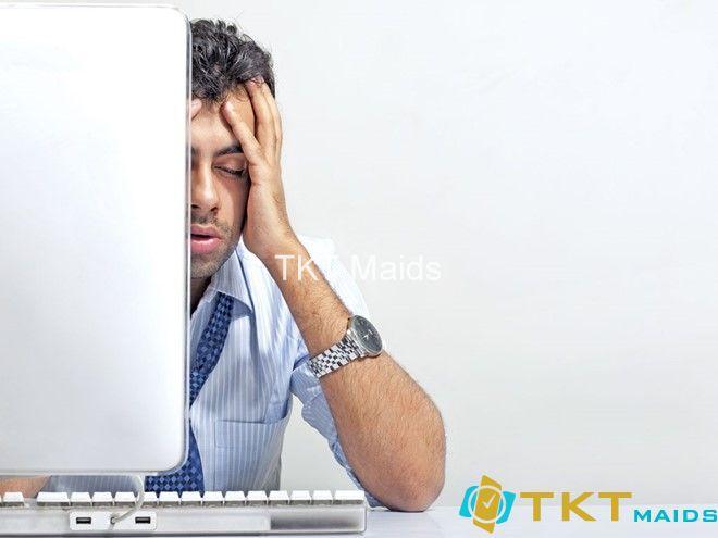 Dân văn phòng bị stress