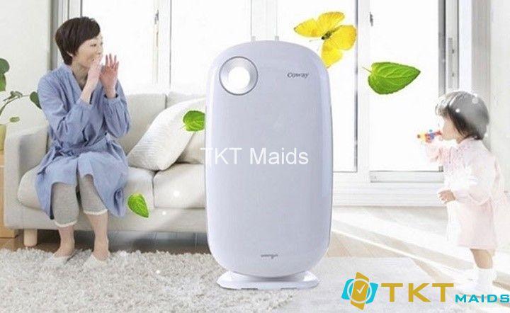 máy làm sạch không khí tại gia đình