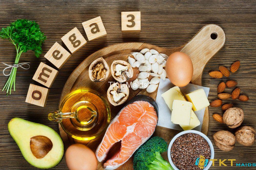 Bổ sung nhiều thực phẩm chứa chất omega - 3 là một axit béo