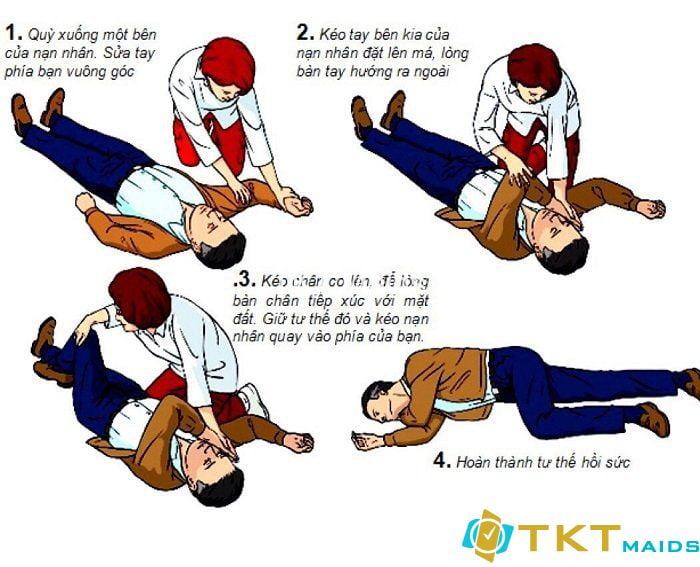 Cách đặt bệnh nhân về tư thế nằm nghiêng an toàn