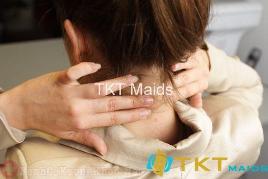 Thường xuyên massage vùng cổ