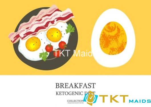 Bữa sáng theo chế độ ăn Keto
