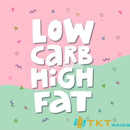 Giảm carb và ăn nhiều chất béo hơn
