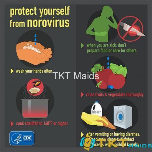Vệ sinh cá nhân đúng cách giúp ngăn ngừa bệnh do Norovirus gây ra