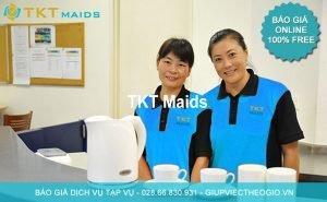 báo giá dịch vụ tạp vụ TKT Maids