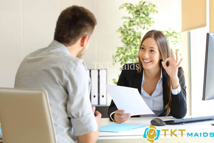 Title: Hình ảnh: Quy trình tuyển dụng nhân viên tạp vụ văn phòng