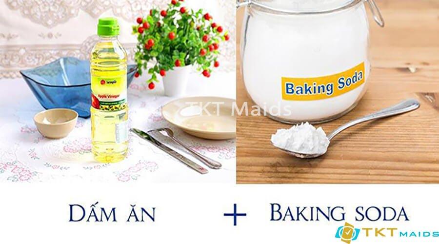 Title: Sử dụng baking soda và giấm