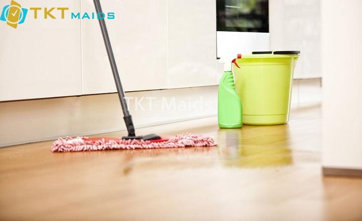 Bí quyết vệ sinh sàn nhà